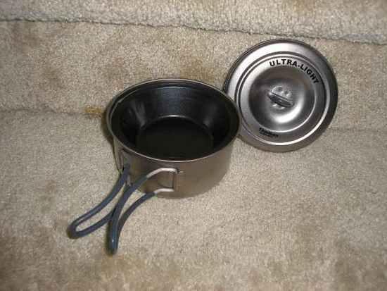 Pan in the pot