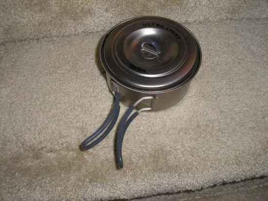 pan inside pot