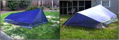 The original Tarptent (the one that became the Virga) was a floorless shaped tarp so very much as the name suggests an in between a tarp and a tent. & Tarp vs tent vs tarptent - Backpacking Light