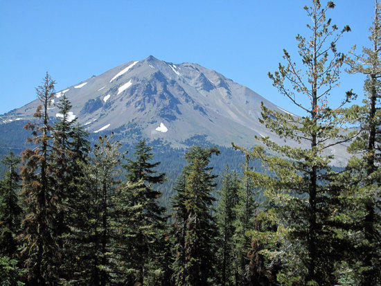 Mt. Lassen Comes into View