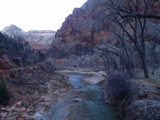 The North Fork of the Virgin River