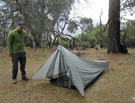David & His Tarptent Contrail