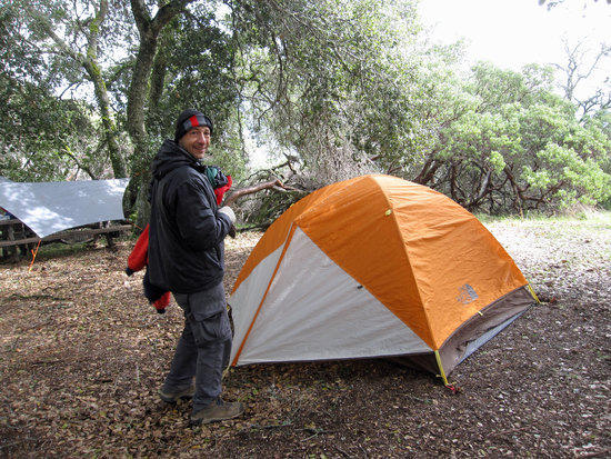 North Face Tent