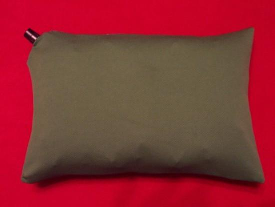 Face side of MYOG pillowcase