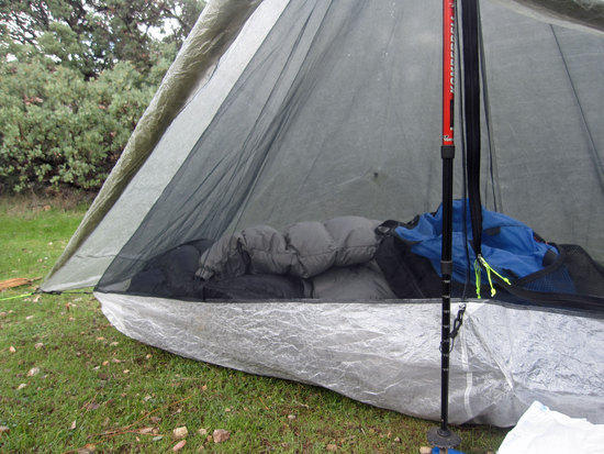 Hexamid Tarp Side View