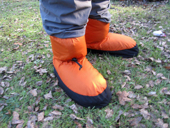 Ken's Feathered Friends Down Booties 2