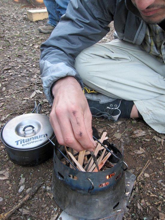 Joseph is Feeding the Flame