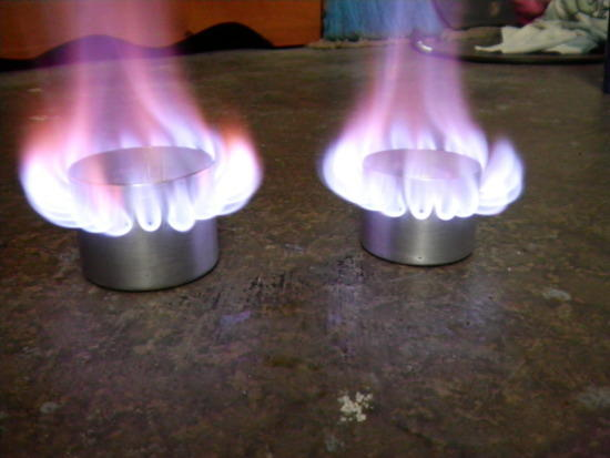 stove in use