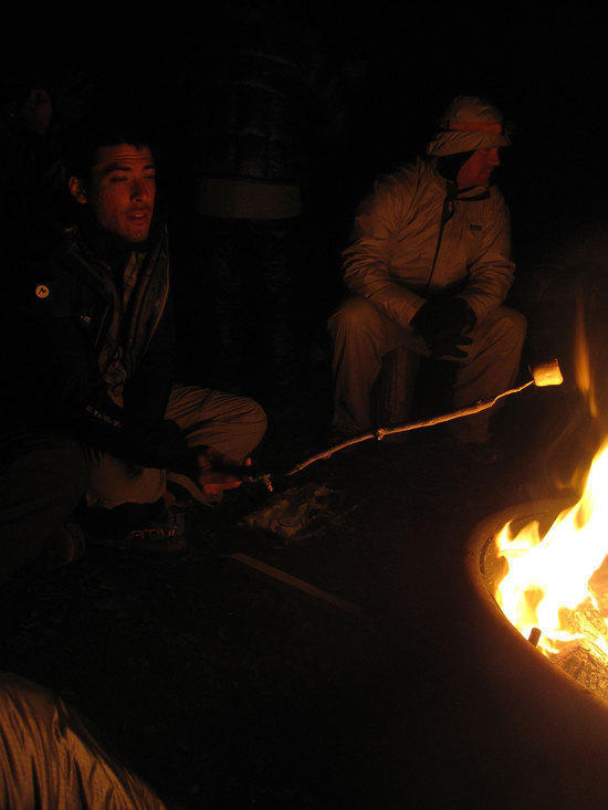 The Warmth of the Fire Gives Comfort to the Weary