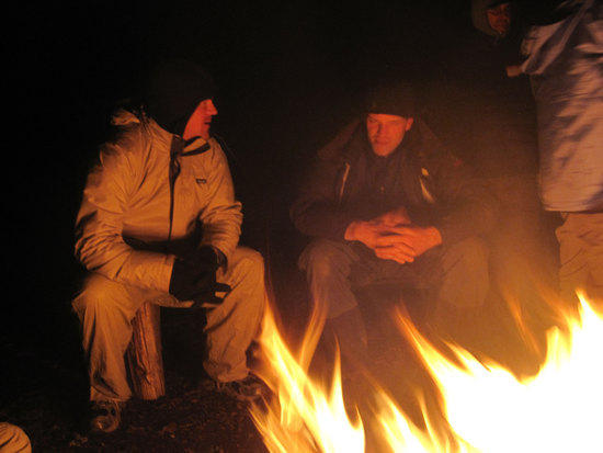 The Cold Gives Us Time to Share New Ideas