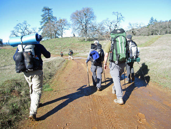 The Trail Begins to Thaw and Get Mucky