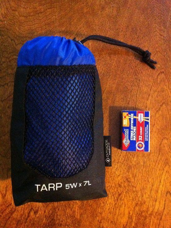 Packed Tarp