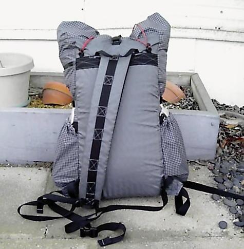 sling pack back