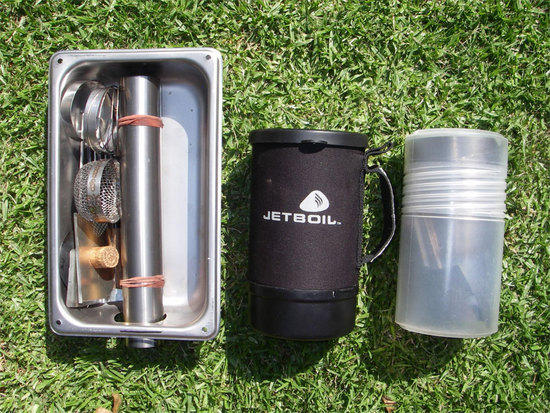 FD stove 2 & Wood Burning Stove with chimney - Backpacking Light