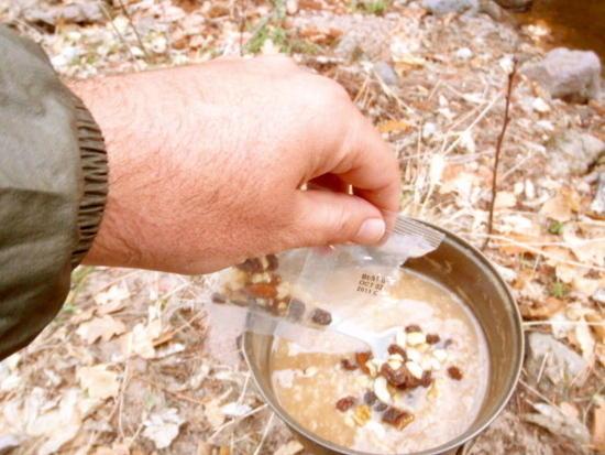 Trail breakfast