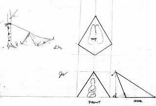 Flying wedge configuration