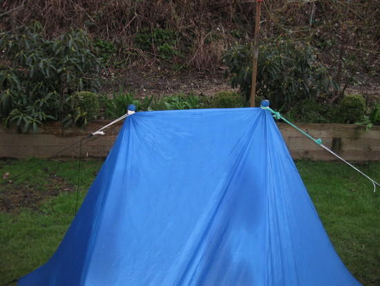Tarp Pole Connection