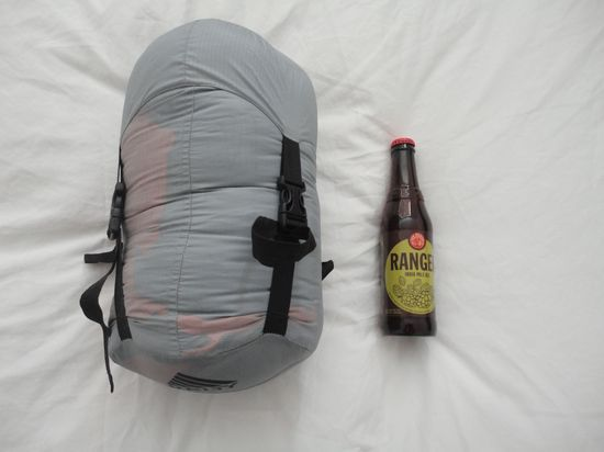 Kelty Bag Packed Size