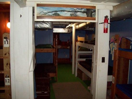 Hostel Bunkroom