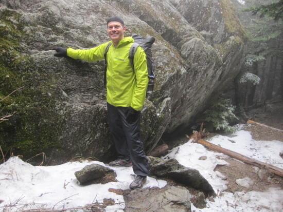 mount mitchell snow