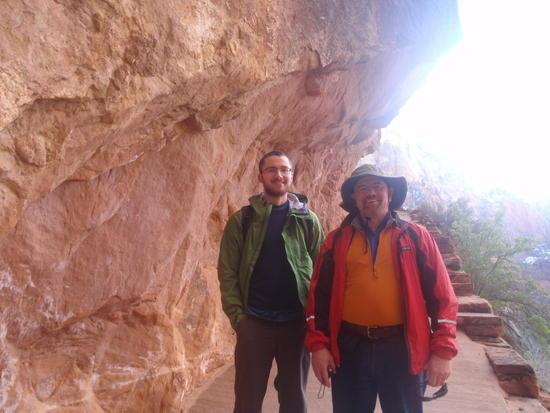 Devin & Rich near Refrigerator Canyon