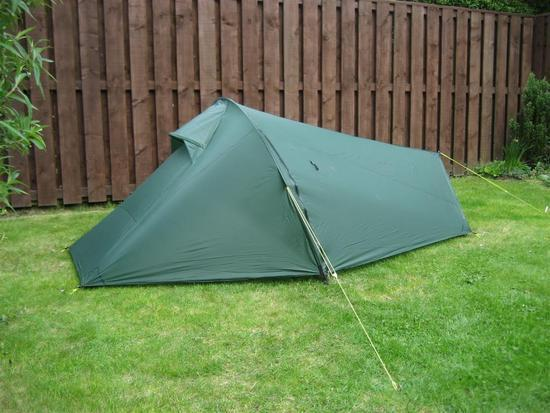 MYOG tent front & MYOG 1 person tunnel tent - Backpacking Light