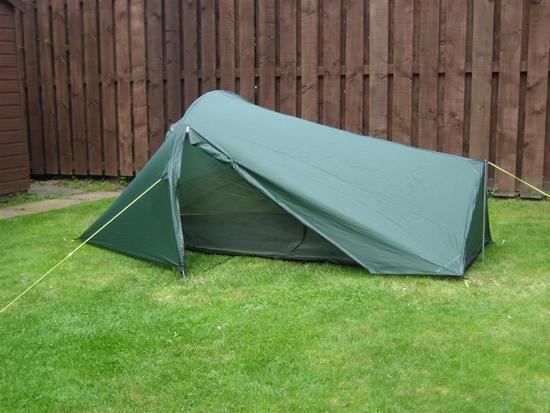 MYOG tent door