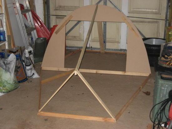 MYOG tent frame