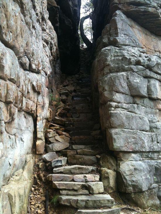 stone door