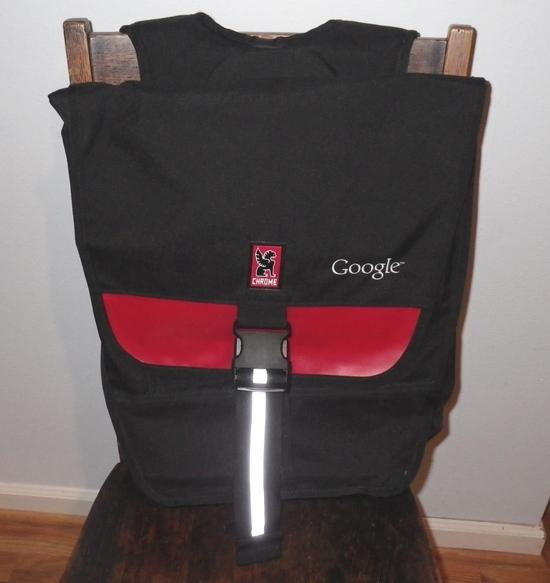 Chrome messenger backpack
