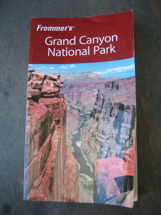 Frommers Grand Canyon Nat. Park 2008 and Lonely Planet Grand Canyon Nat. Park 2004- Both $8 shipped
