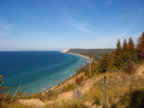 Lake Michigan coast - Sleeping Bear Dunes