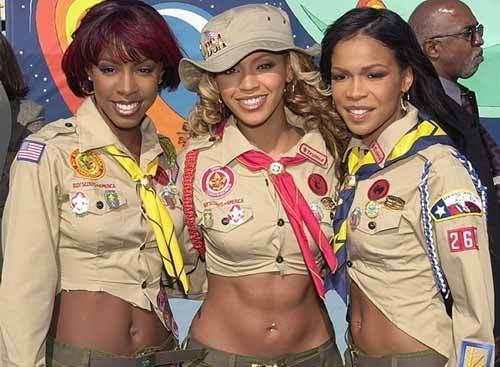 Destiny's Child goes scouting!