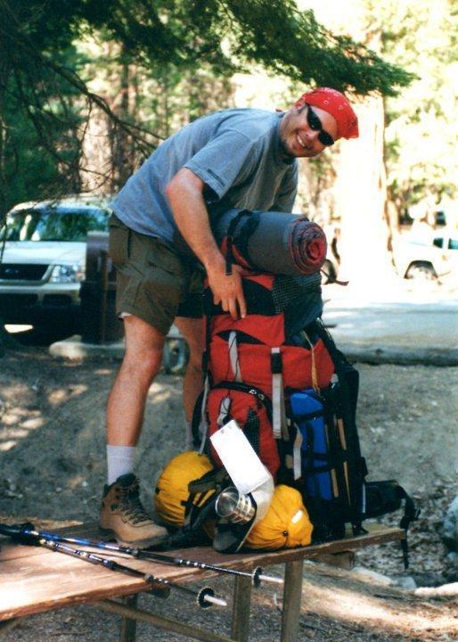 Starting The Rae Lakes Loop circa 1999