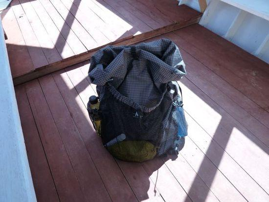 Exodus on a fishing boat to Isla del Sol