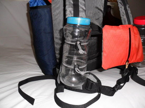 Water Bottle Carrier Bungees
