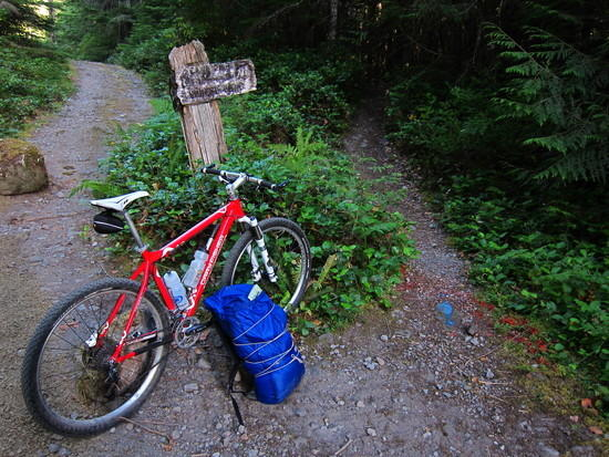 The G6 on the Still Creek loop, Mount Hood National Forest