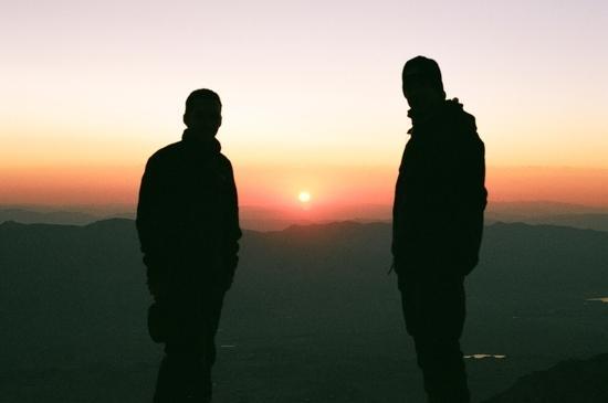 Sunrise atop Mt. Whitney