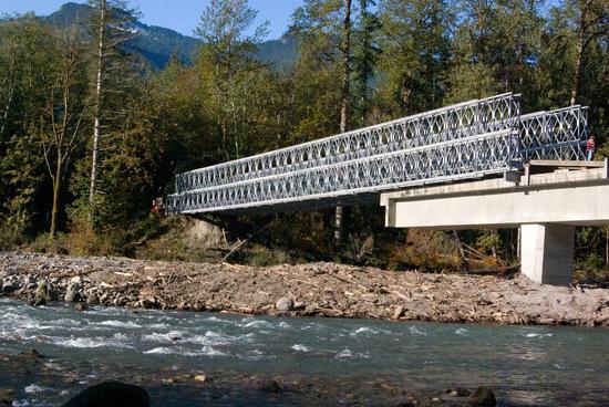 Boundary Bridge Suiattle River Forest Service Road #26