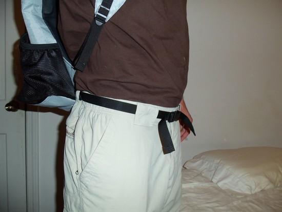 Pack Hipbelt as Pants Waist Belt