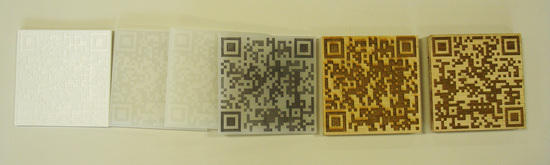 QR Code + Material Exploration