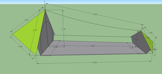 Tarp Tent Big  sc 1 st  Backpacking Light : diy bivy tent - memphite.com