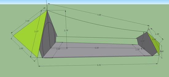 Tarp Tent Big  sc 1 st  Backpacking Light & DIY Tarp Shape - Backpacking Light
