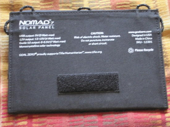 Nomad 7 Flap Open