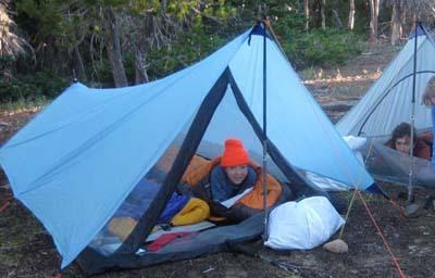 tarp and net tent & DIY Tarp Shape - Backpacking Light