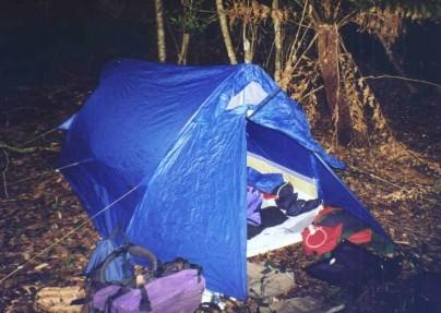 OutsideB - spinnaker tent