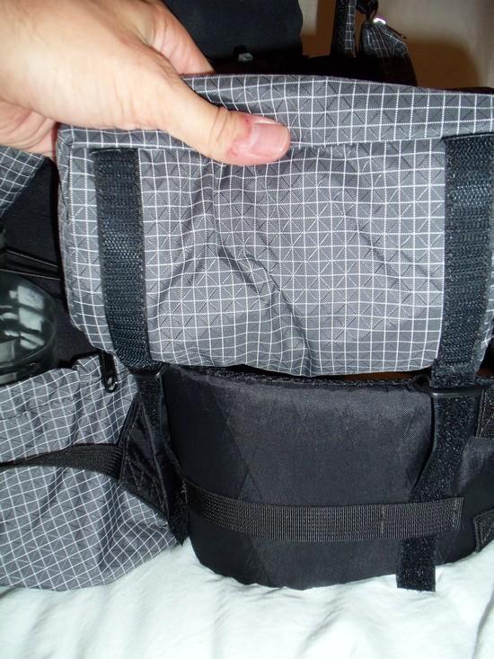 Hip Belt Pocket Attachment System
