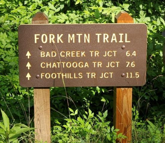 Trailhead Sign
