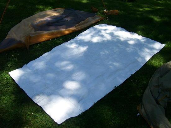 Tyvek groundcloth