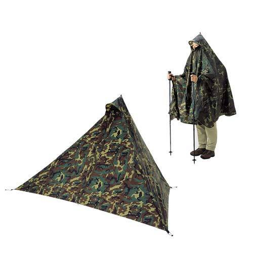 Montbell poncho mid